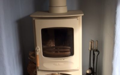 Wood Burner swept at Tregurrian